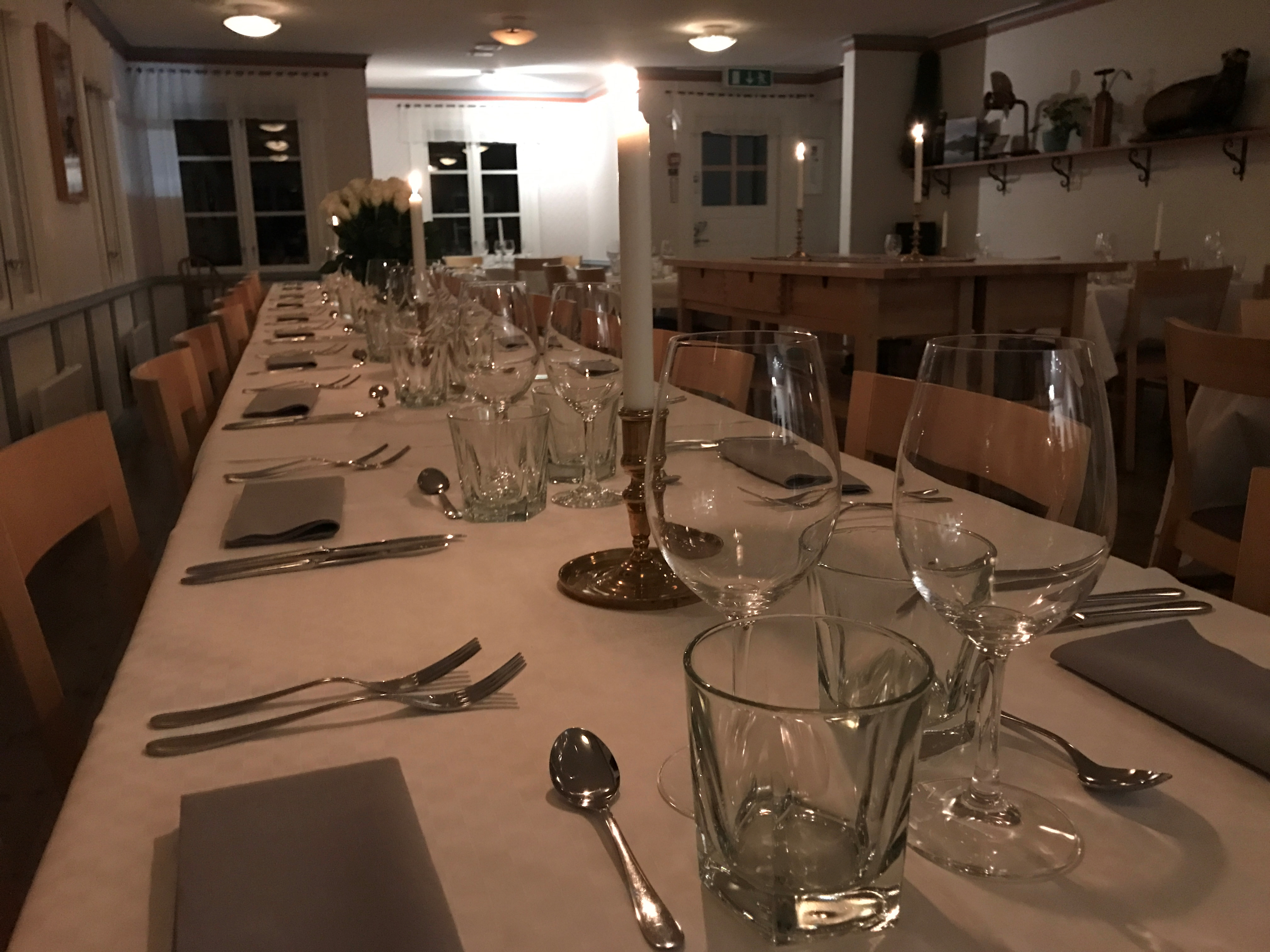 Middag på slottet