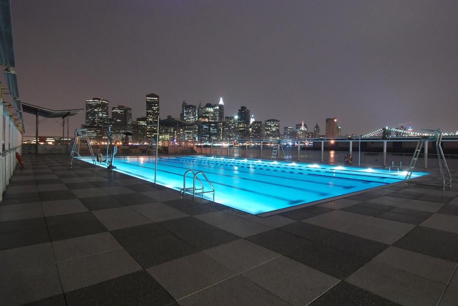 _pool night