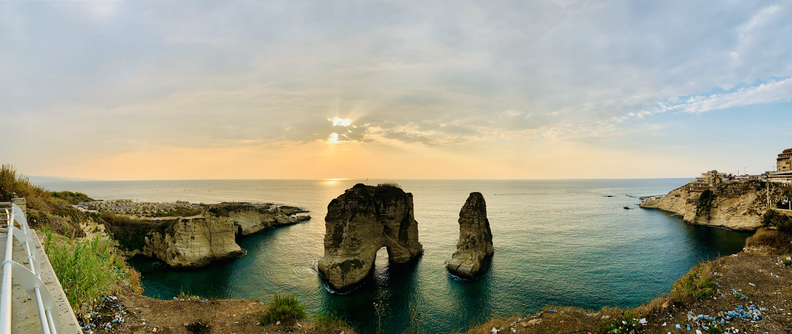 Pigeon's Rock, Panormaic View