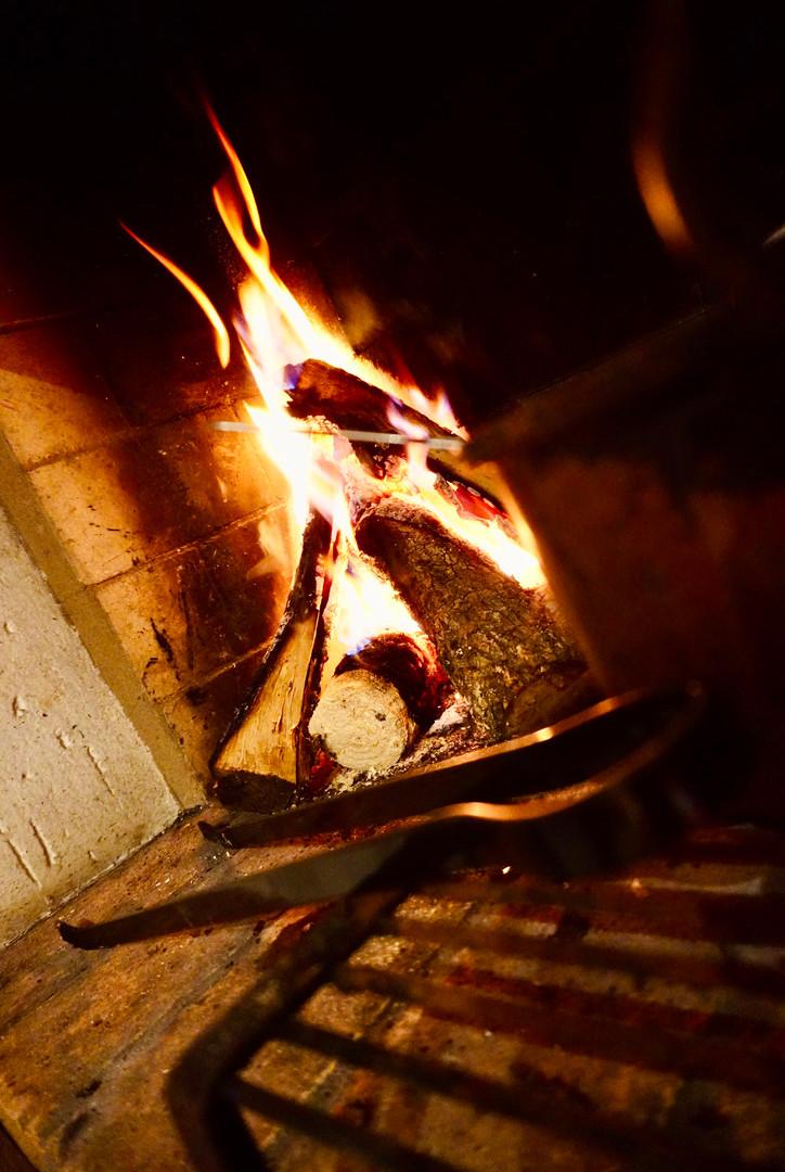 A Nice Winter Flame