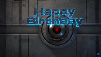 Optical Scanner Happy Birthday.mp4