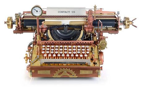 typewriter steampunk