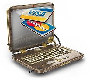Laptop credit cards