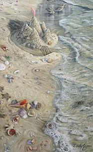 Sand Castle & Sandpiper