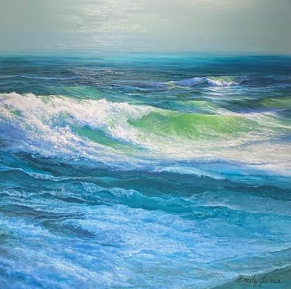 Sunlit Sea