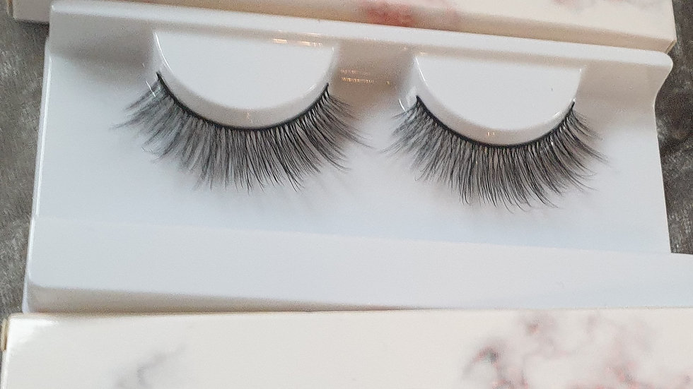 Faux mink lashes silk sheets