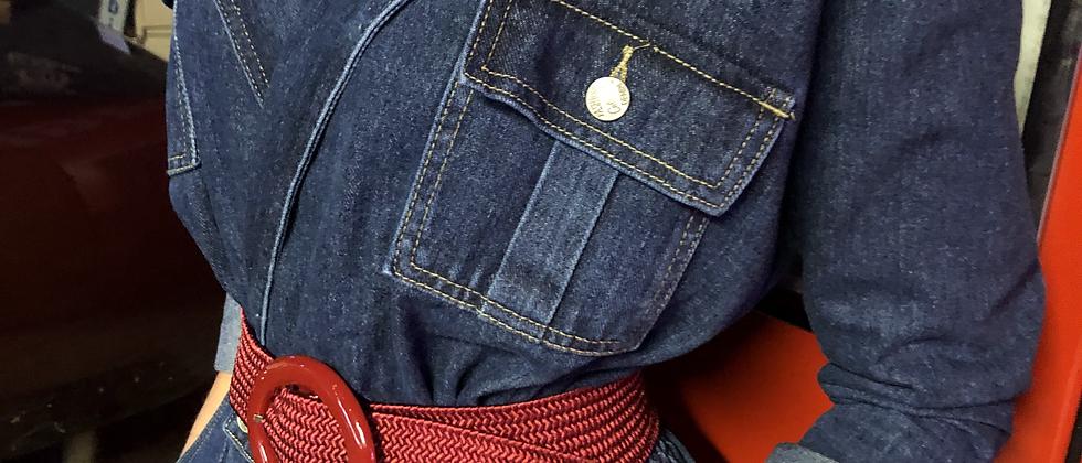 Combinaison-Veste en jean