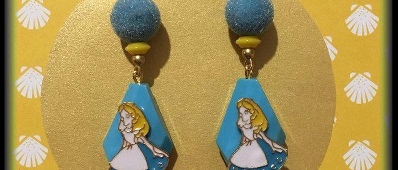 """Boucles d'oreilles """"Alice"""""""