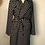 Thumbnail: Trench coat noir & blanc à pois