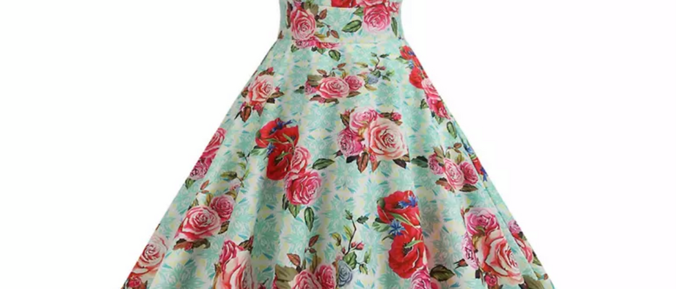 """Robe swing """"Foral Rosie"""""""