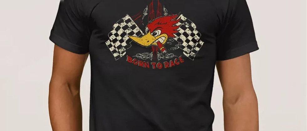 """Tee shirt  """"BORN TO RACE"""""""