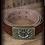"""Thumbnail: Ceinture en cuir à boucle en métal """"Heimwarts"""""""