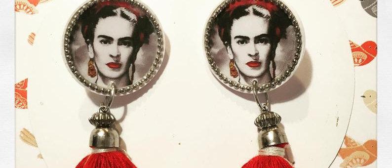 """Boucles d'oreilles """"Frida Kahlo"""""""