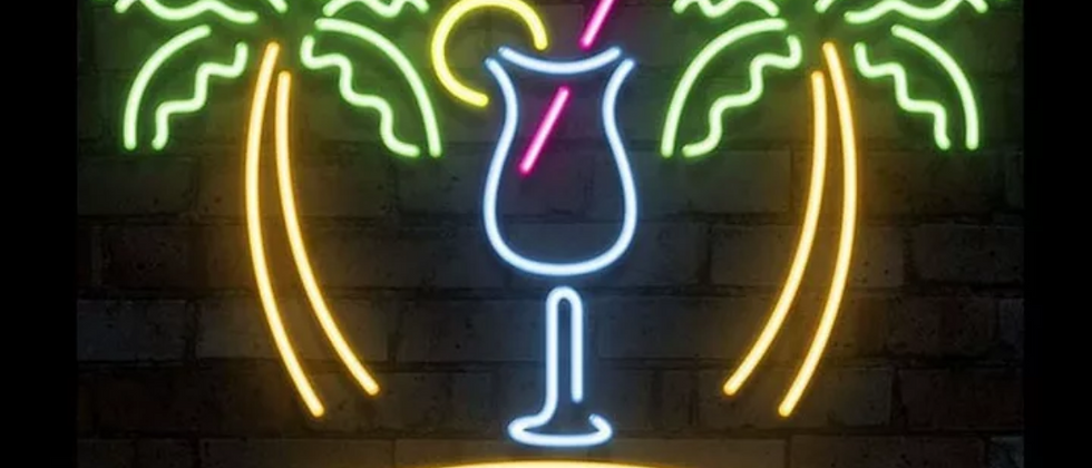 "Enseigne Lumineuse ""DRINK"""
