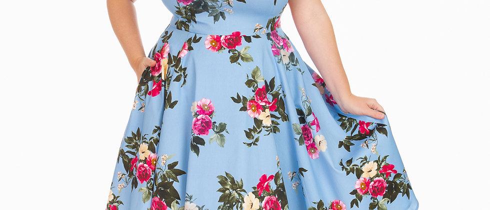 """Robe swing Florale """"Jolene"""""""