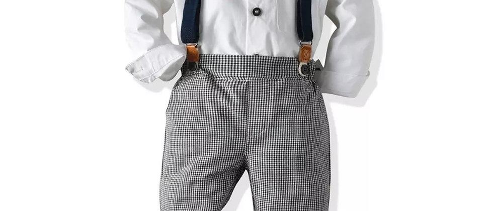 ensemble rétro chemise et pantalon