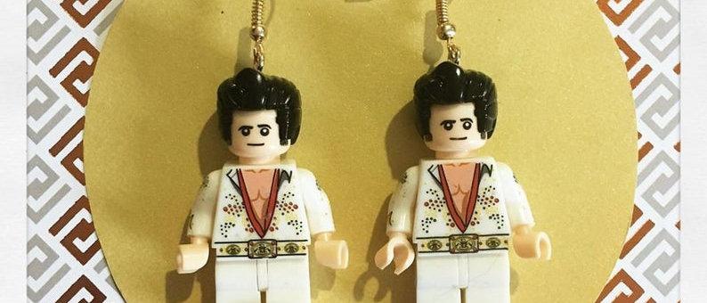 """Boucles d'oreille """"Elvis Presley"""""""