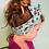 "Thumbnail: Bandeau cheveux mini pinup ""Bain de mer"""