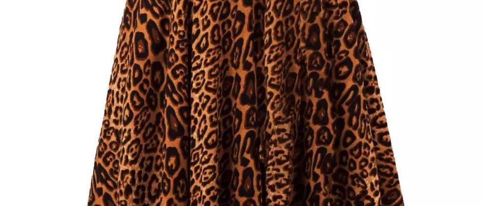 Jupe léopard du S au 2XL