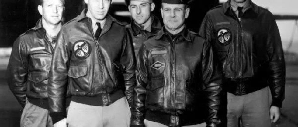 veste cuir pilote personnalisée