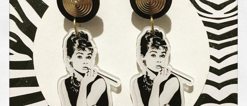 Boucles d'oreilles Audrey Hepburn