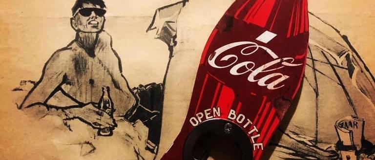 """Décapsuleur Vintage """"open bottle"""""""
