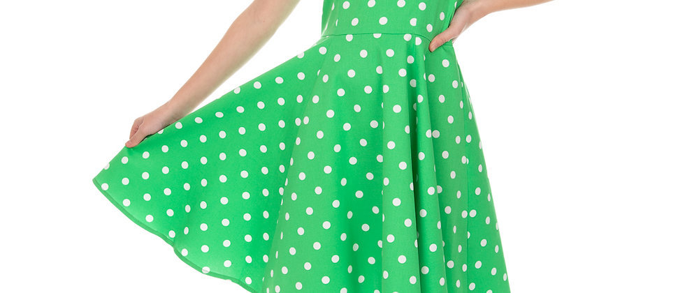 """Robe swing a pois """"Carly"""""""