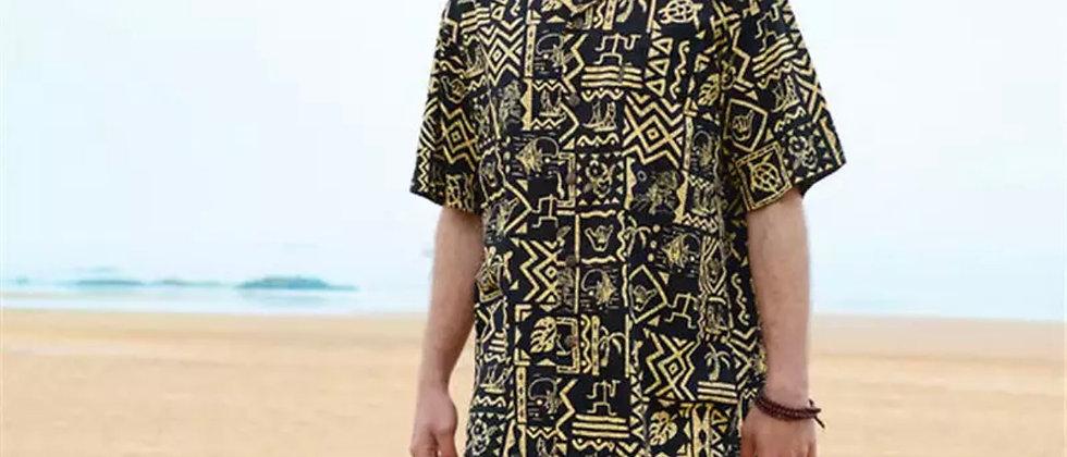 Chemise retro hawaiienne
