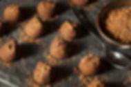 טראפלס טבעוני ללא גלוטן או פחמימות
