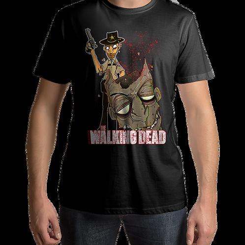 The Walking Dead Rick Grimes Zombie Headshot