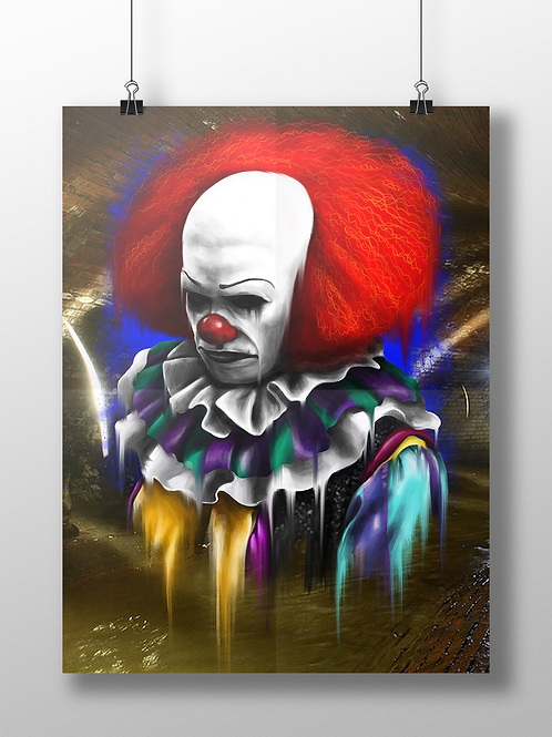 Pennywise The Dancing Clown IT 1990s Tim Curry