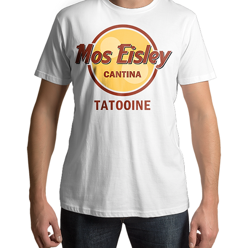 Mos Eisley Cantina - Star Wars / Hard Rock Mashup (White)