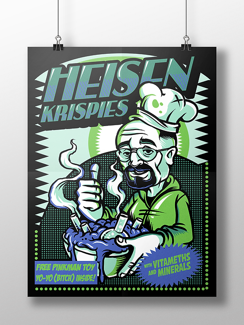 Heisenkrispies - Breaking Bad