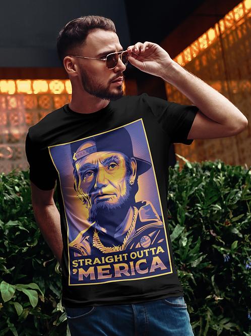 Straight Outta 'Merica Abe Lincoln