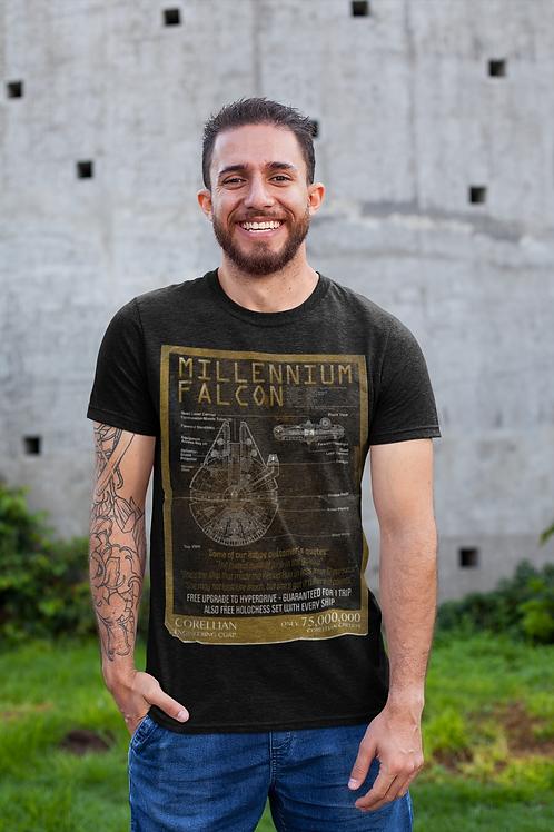 Millennium Falcon Sale Poster // Star Wars