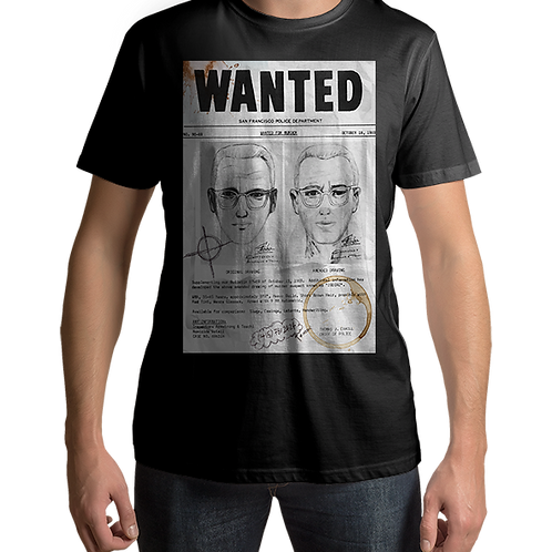 Zodiac Killer Wanted Poster