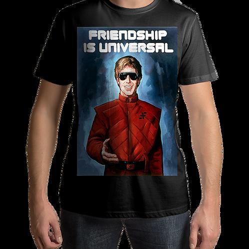 "V - TV Series - Propaganda Poster 2 ""Friendship is Universal"""