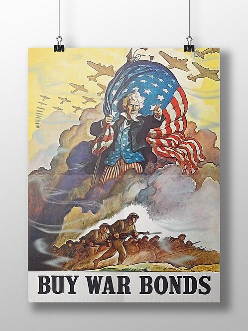 Buy War Bonds War Poster