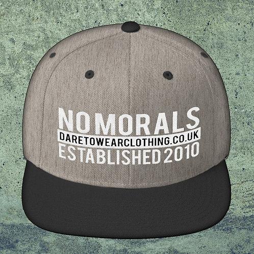 Dare To Wear No Morals Snapback Cap
