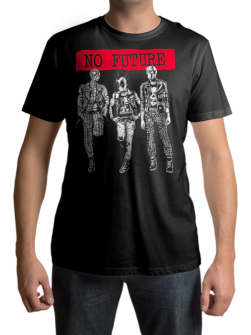 No Future - Superheroes