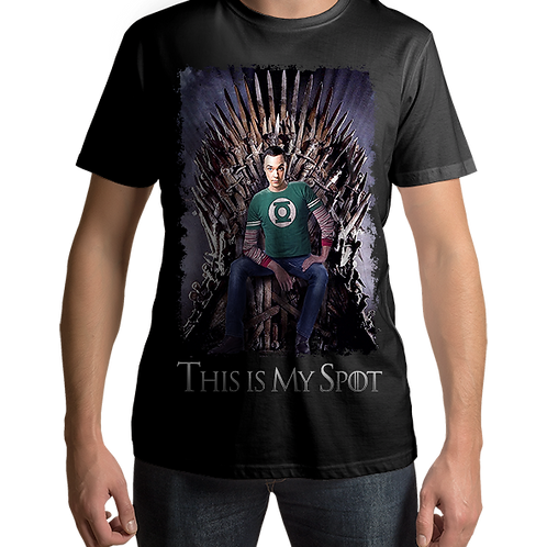 Big Bang Theory Sheldon This is My Spot Game of Thrones