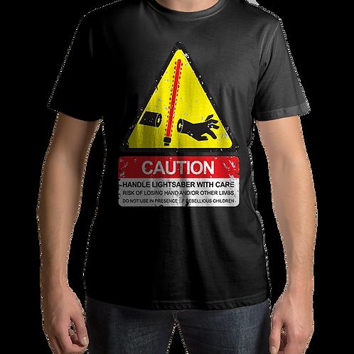 Lightsaber Caution Star Wars Sign