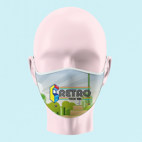 Retro Tech 100 Face Mask