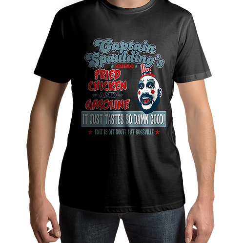 Captain Spaulding Fried Chicken Devils Rejects House 1000 Corpses