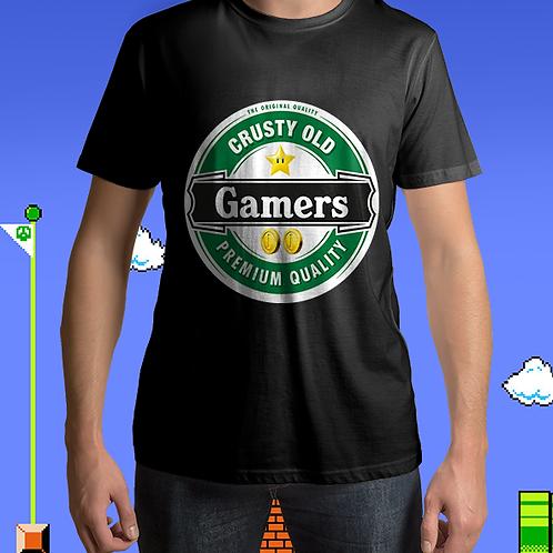 Crusty Old Gamers - Beer Mashup
