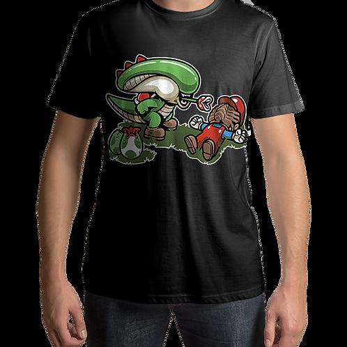 Mario and Yoshi Xenomorph mashup Nintendo