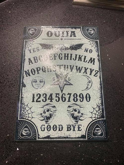 Glass Ouija Chopping Board