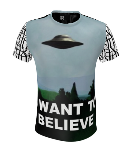 I Want to Believe - X TShirt