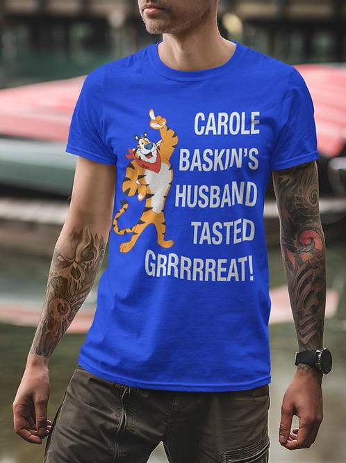 CAROLE BASKINS HUSBAND