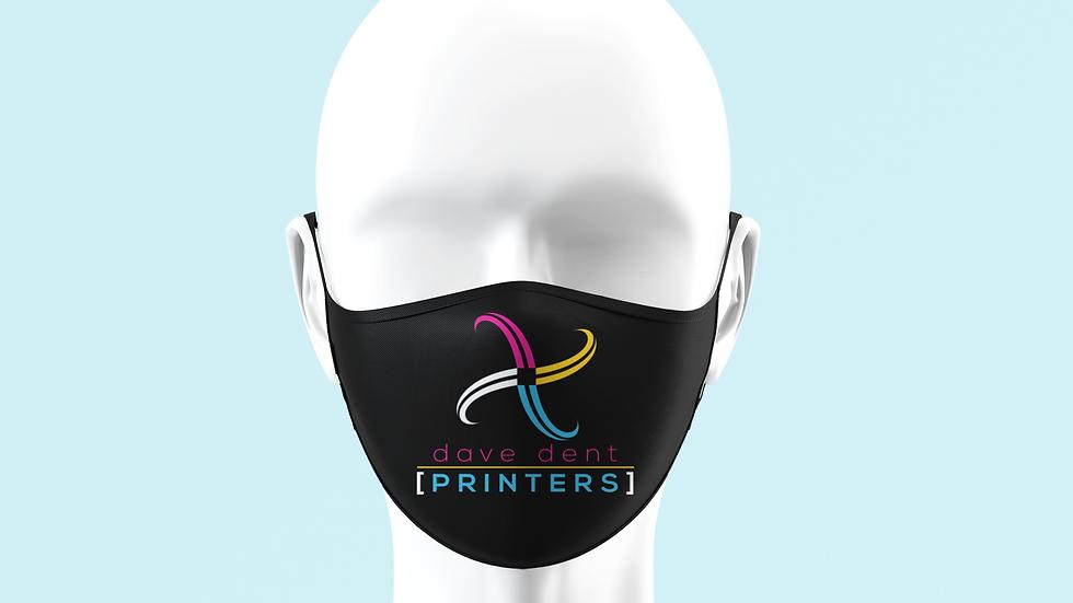 Custom Printed Face Masks - Your Logo or Design etc